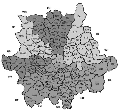 OTHER LONDON AREAS