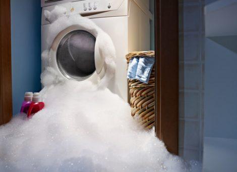 washing machine damage
