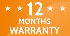 happy appliances warranty 12 months