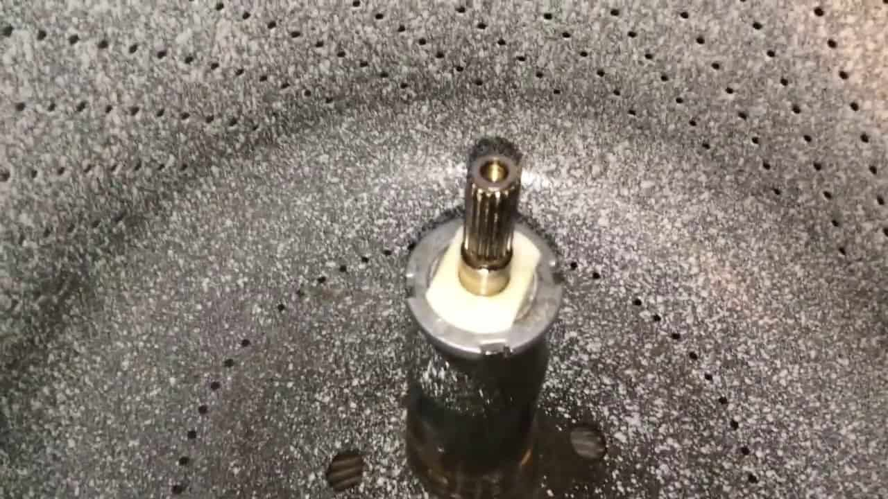 washing machine sand removal procedure